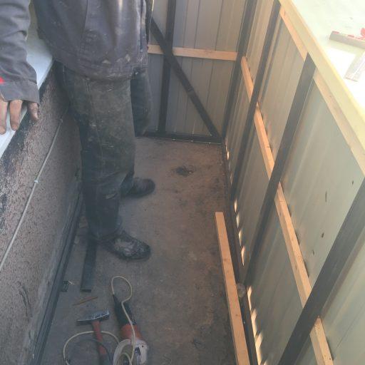 Восстановление балкона с отделкой #29092018