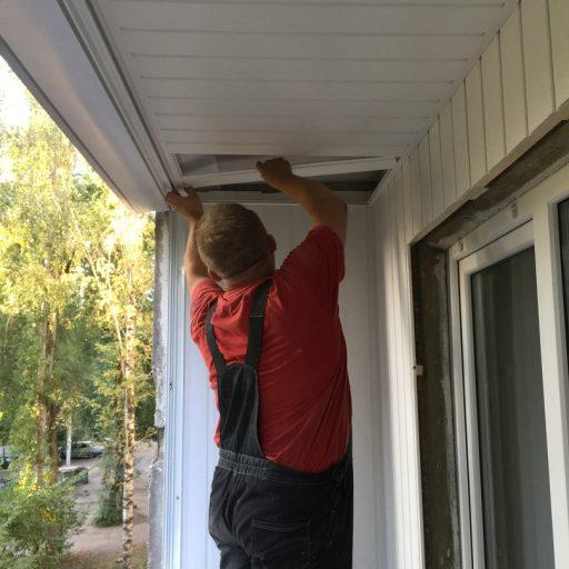 Остекление и отделка балкона #21092018