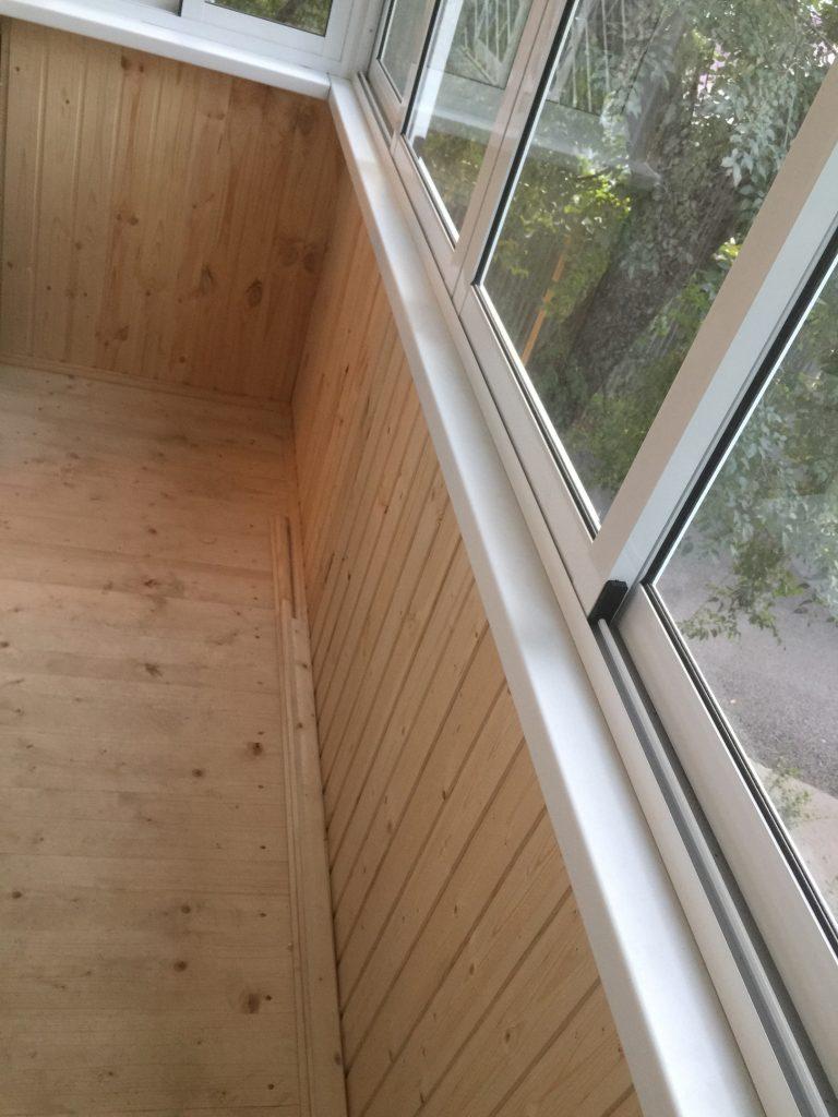 Подъем пола на балконе