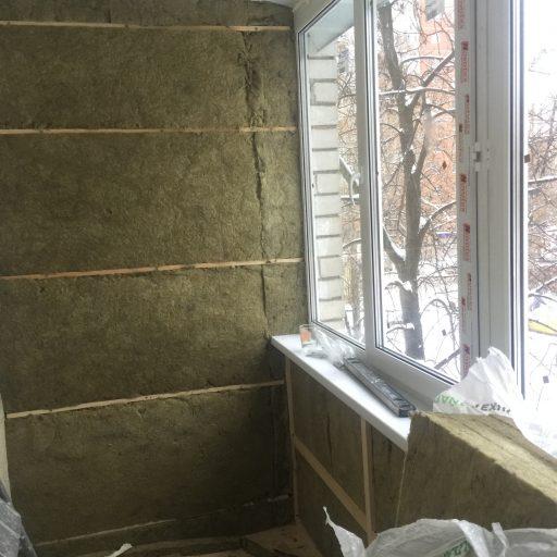 Утепление балкона урусой