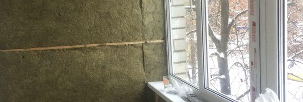 Утепление и остекление балкона #23122018