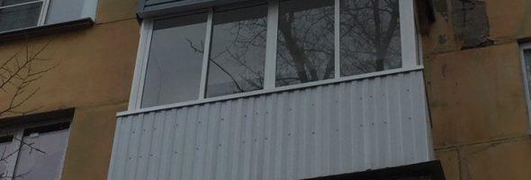 Остекление балкона под ключ #03042019