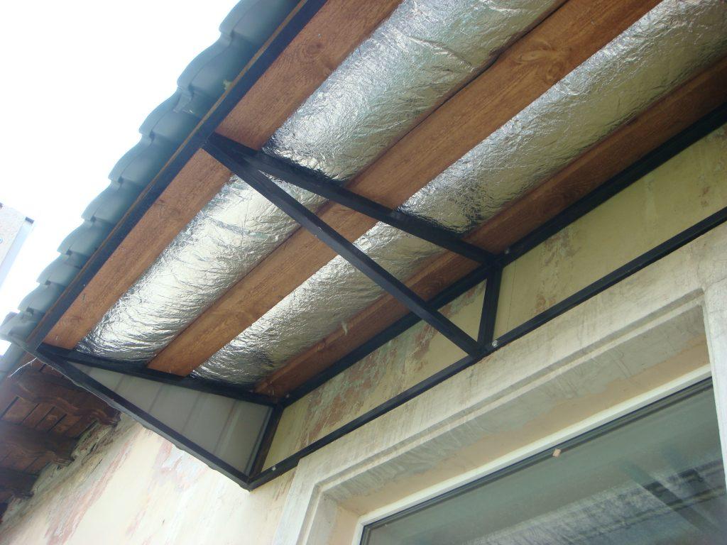 Сварная крыша