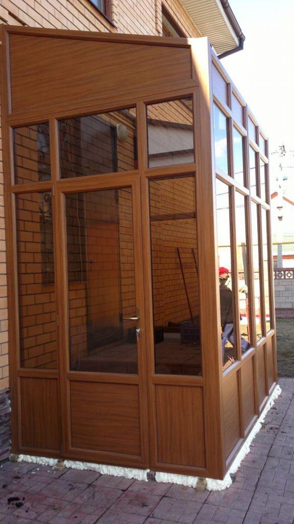 Ламинированные окна и двери